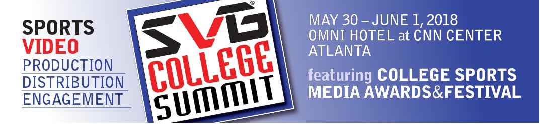 SVG 2018 College Summit