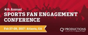Sports Fan Engagement 2017